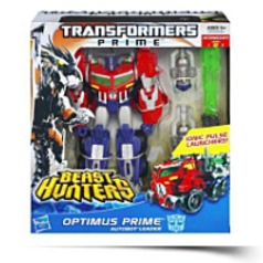 Prime Beast Hunters Voyager Class Optimus