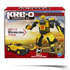 Transformers Bumblebee Construction Set