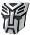 transformers autobots logo hood ornament decal